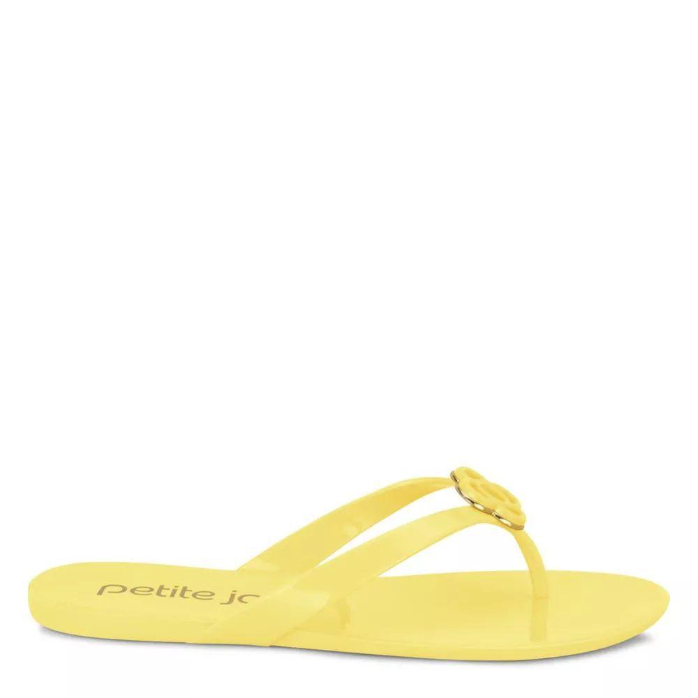 Chinelo Petite Jolie Lucky PJ3338 Amarelo