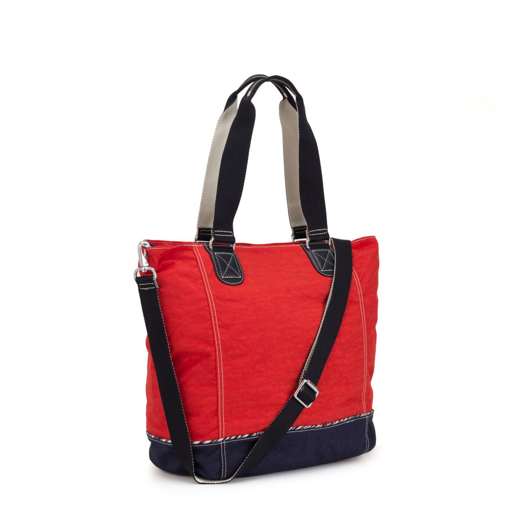 Bolsa Grande Shopper C Kipling Active Red