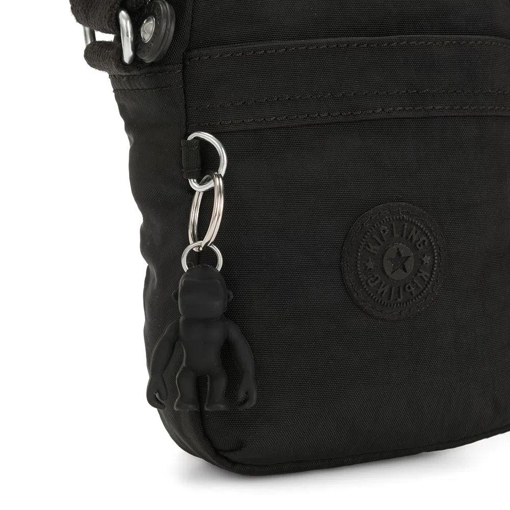 Bolsa Pequena Kipling Hisa Mini Black Noir