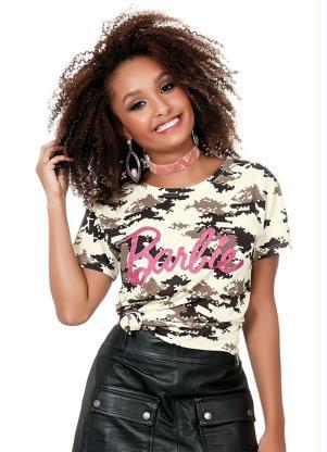 Duas Camisetas Taz e Barbie