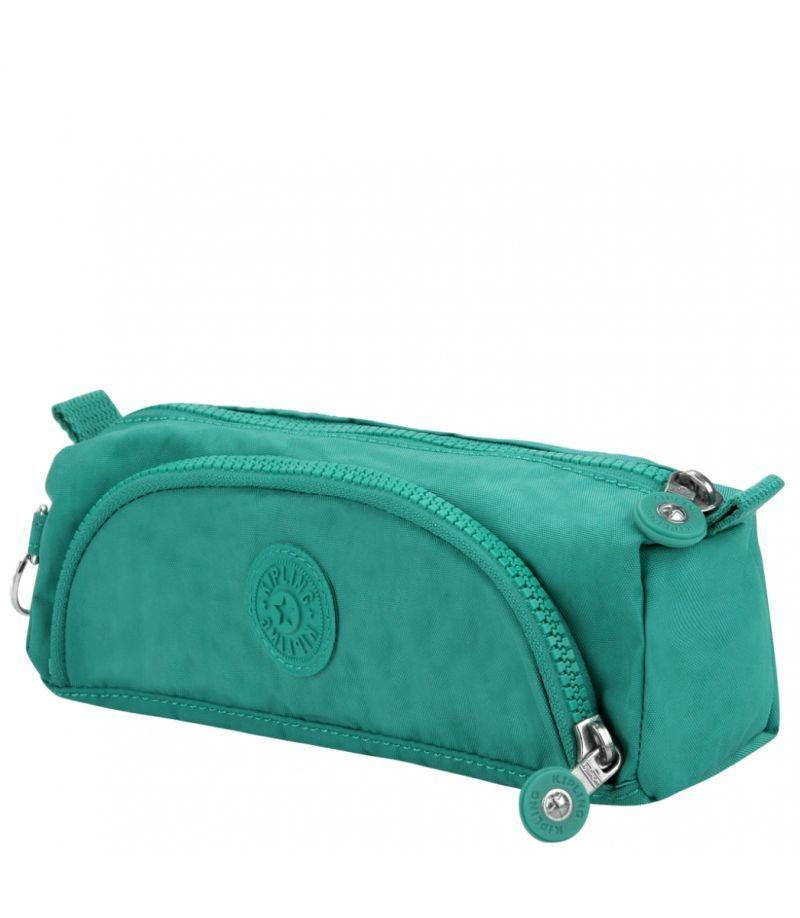 Estojo com Bolso Cute  Kipling Aqua Green