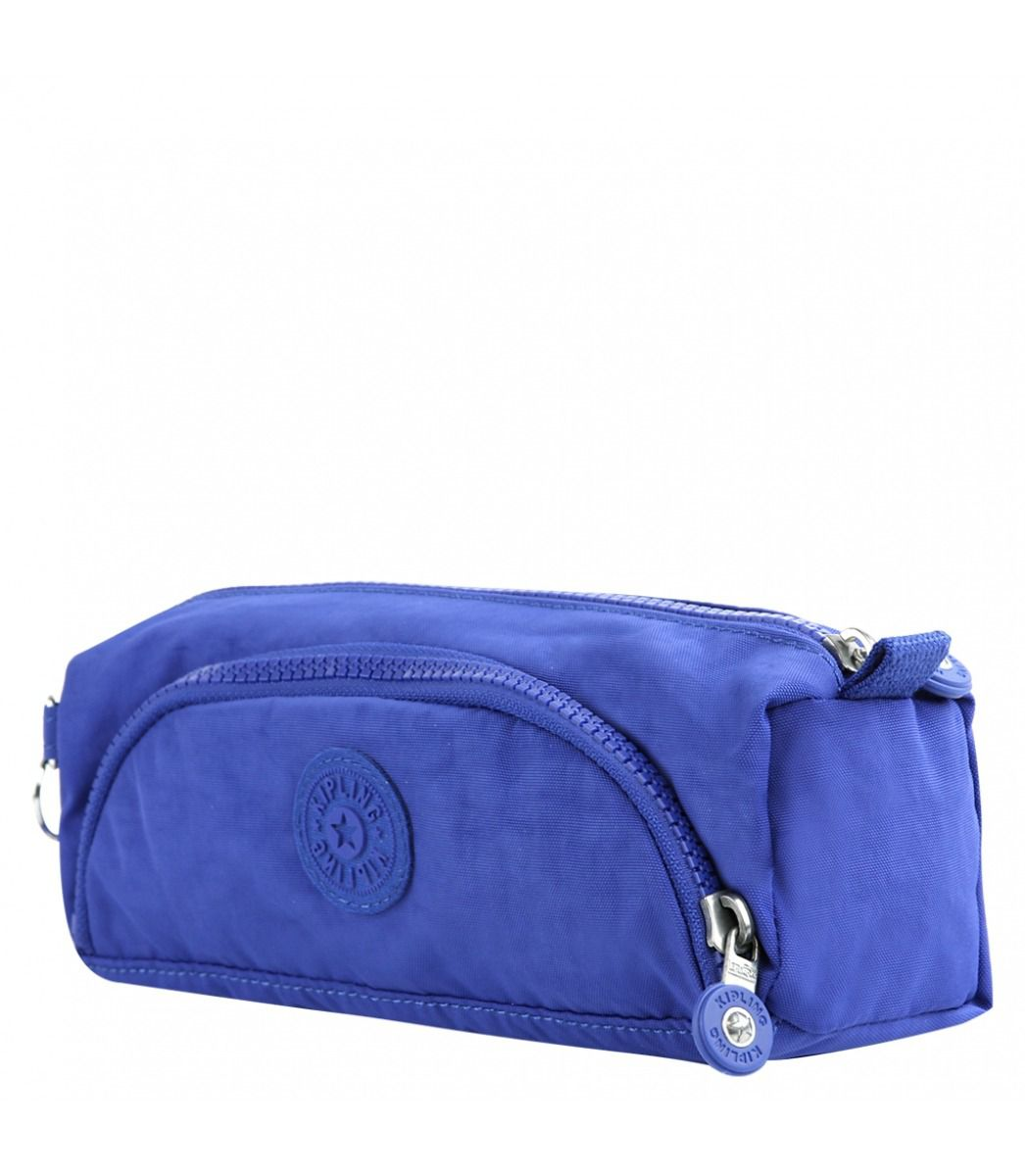 Estojo com Bolso Cute  Kipling Broken Blue