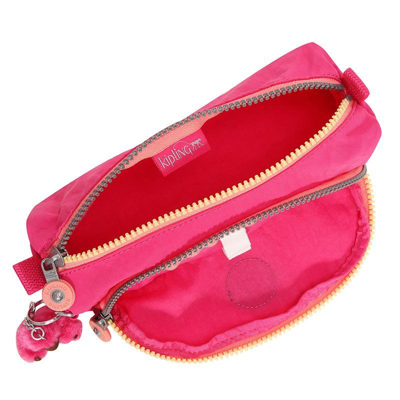 Estojo com Bolso Cute  Kipling Kind Rose C