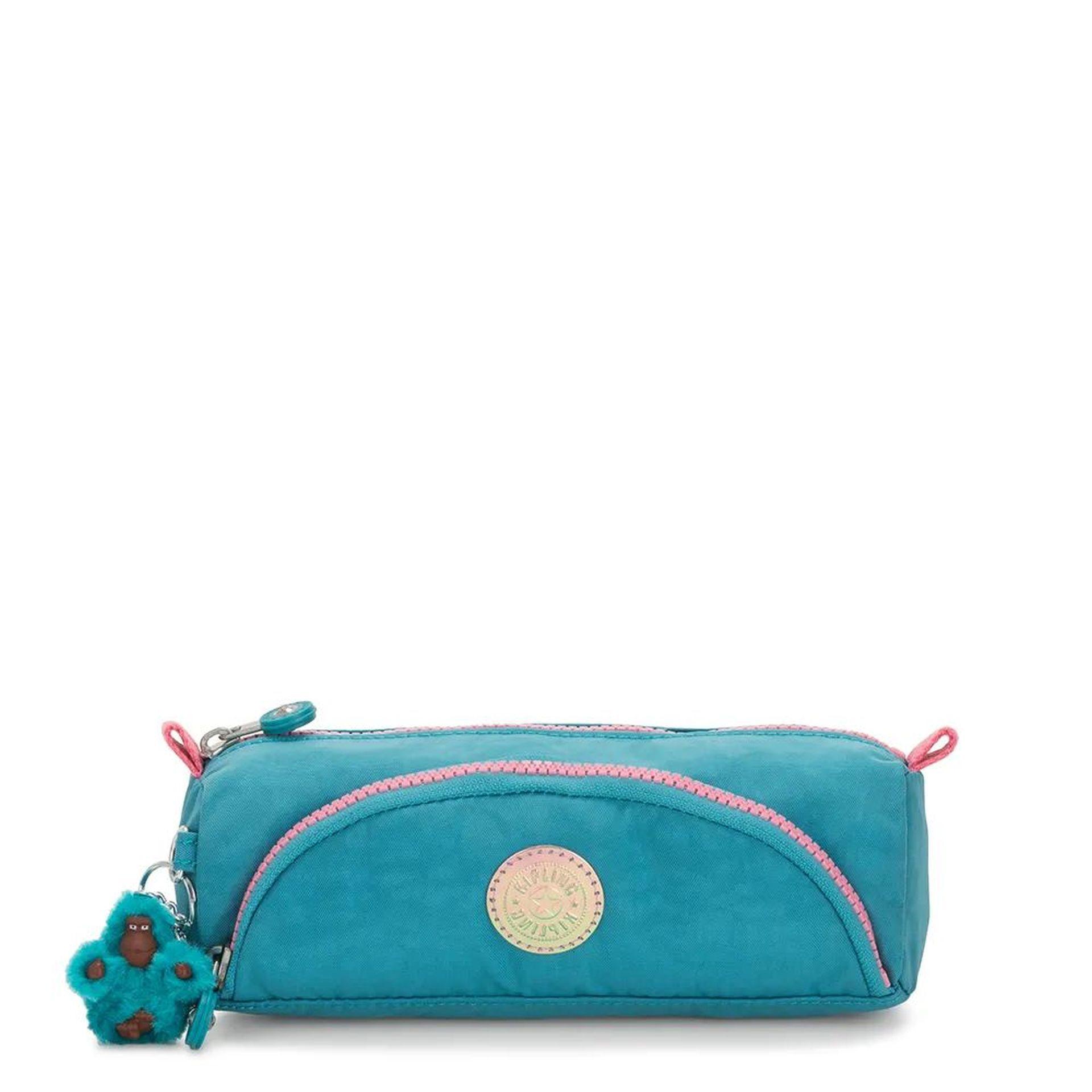 Estojo com Bolso Cute  Kipling Turquoise Sea