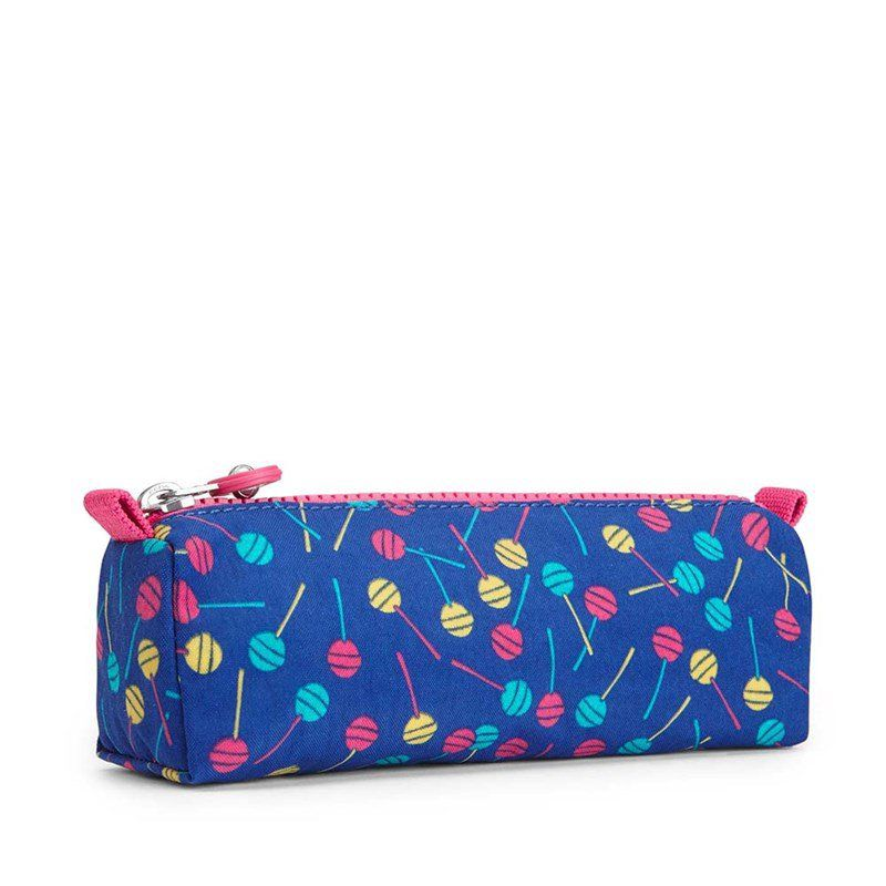 Estojo Freedom Kipling Blue Lollipop
