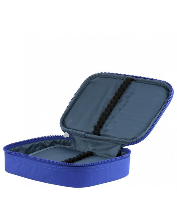 Estojo Grande 100 Pens Kipling Broken Blue