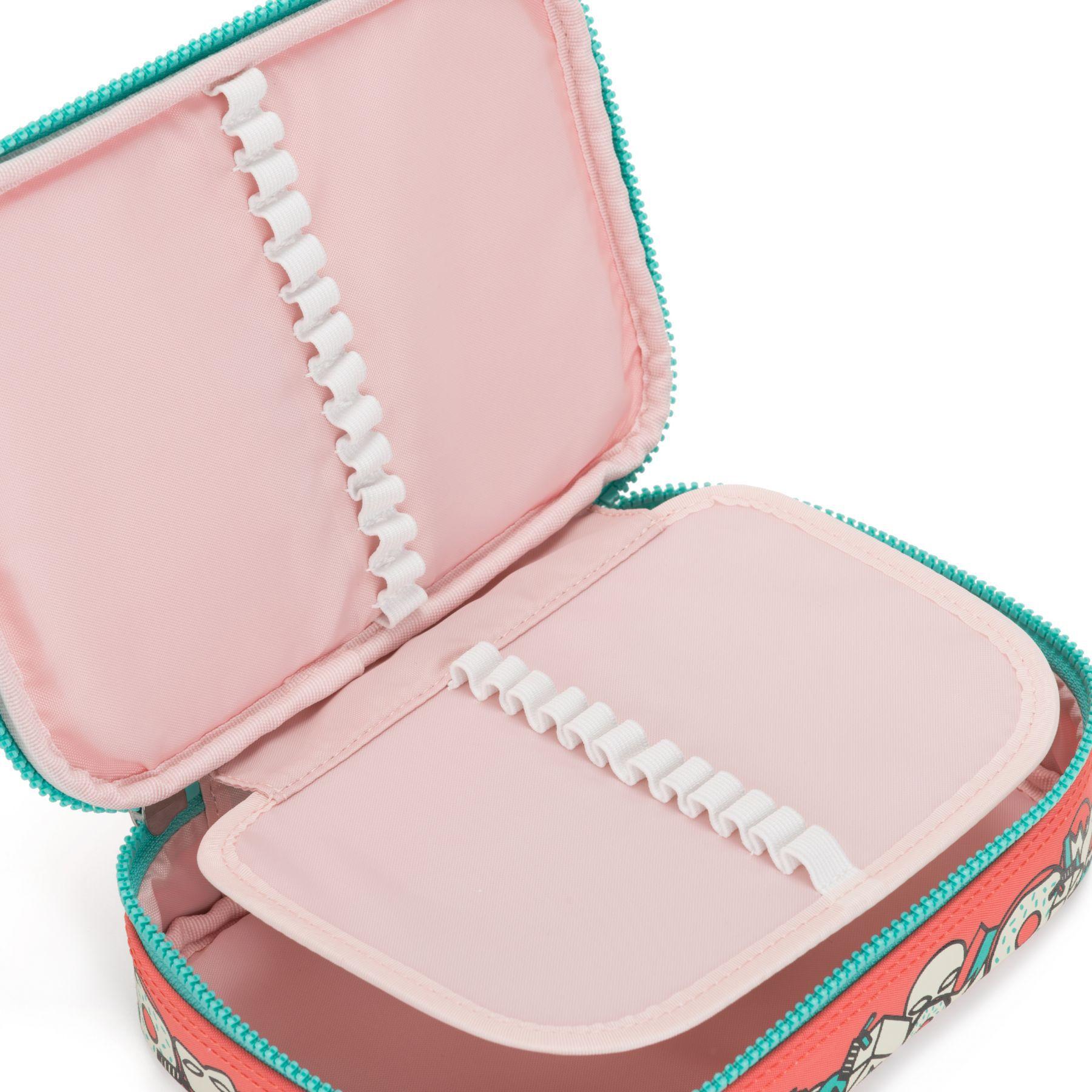 Estojo Grande 100 Pens Kipling Peachy Pink Fun