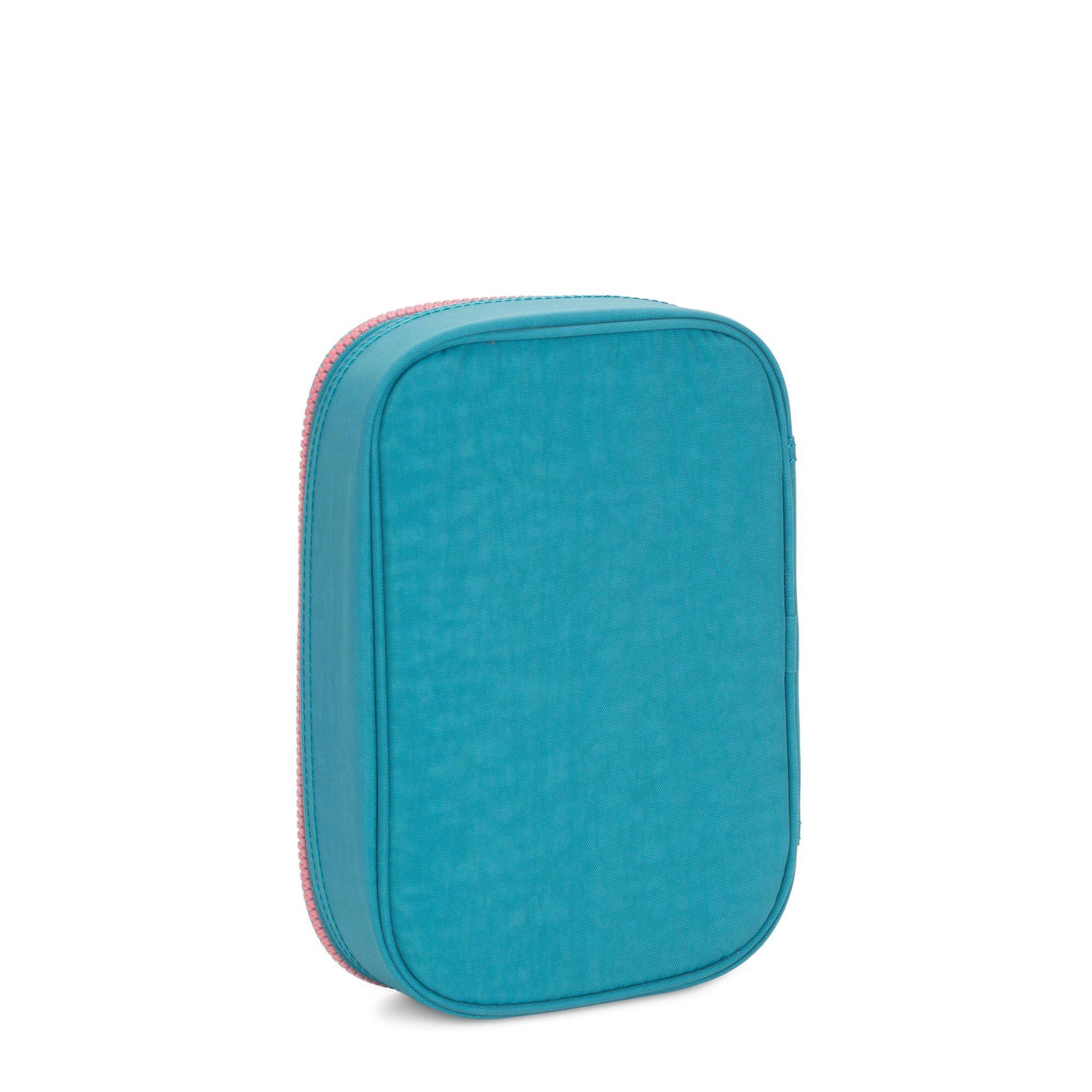 Estojo Grande 100 Pens Kipling Turquoise Sea