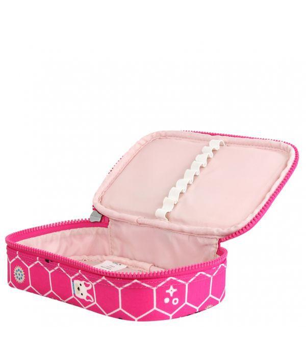 Estojo Médio 50 Pens Kipling Pink Dog