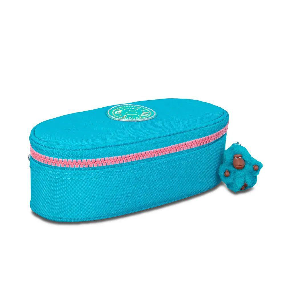 Estojo Médio Duobox Kipling Turquoise Sea
