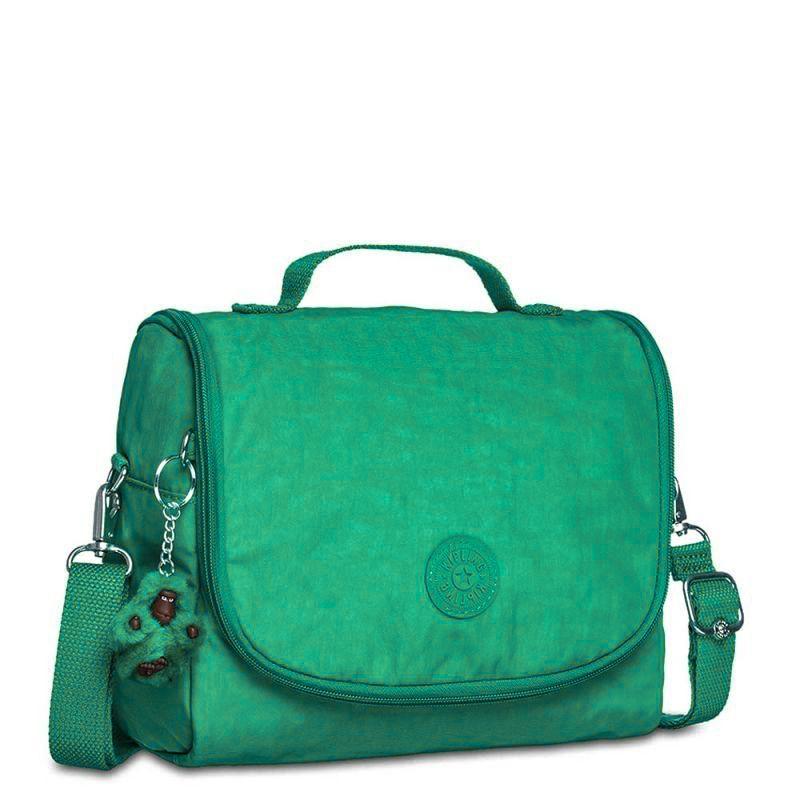 Lancheira New Kichirou Kipling Aqua Green