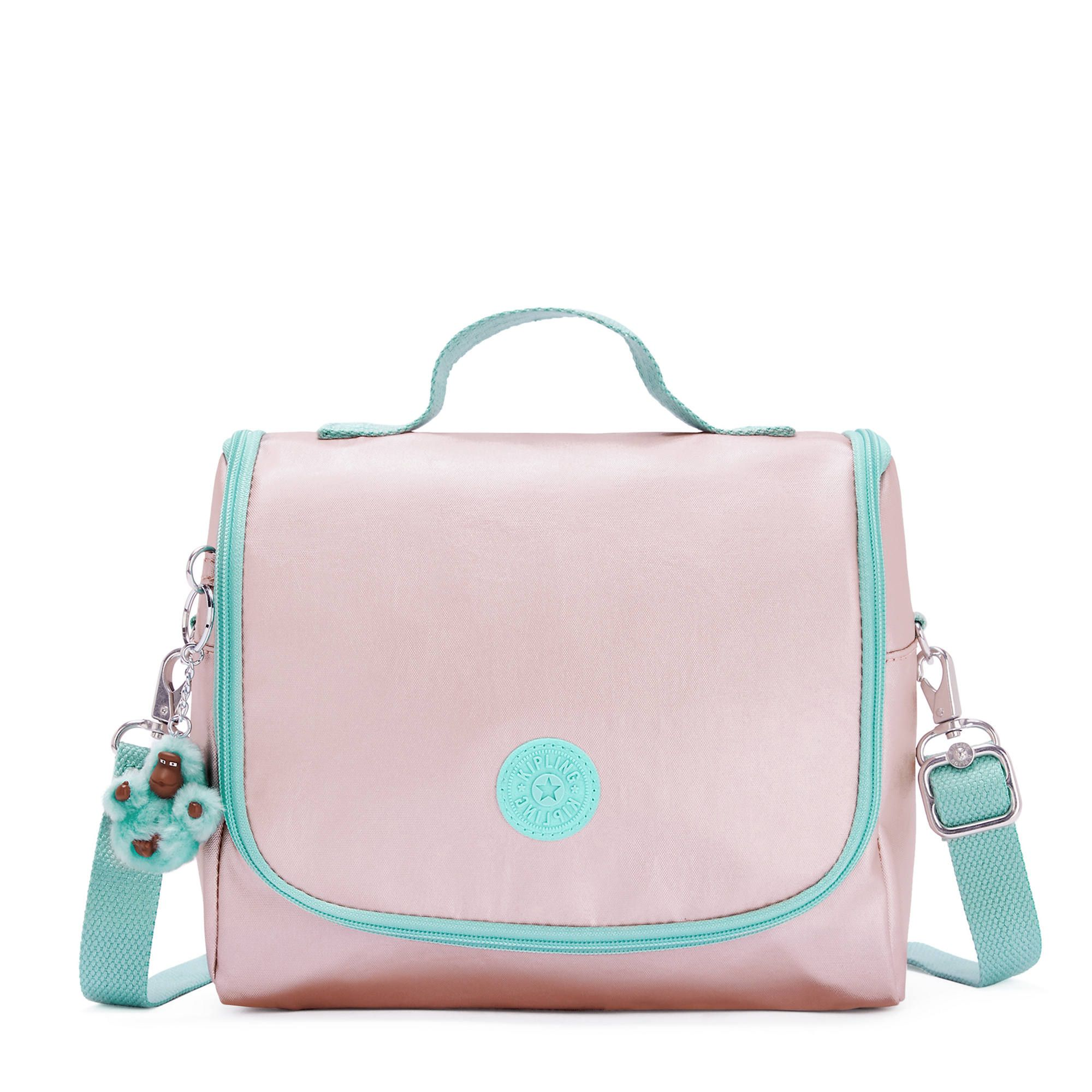Lancheira New Kichirou Kipling Cotton Candy Bl