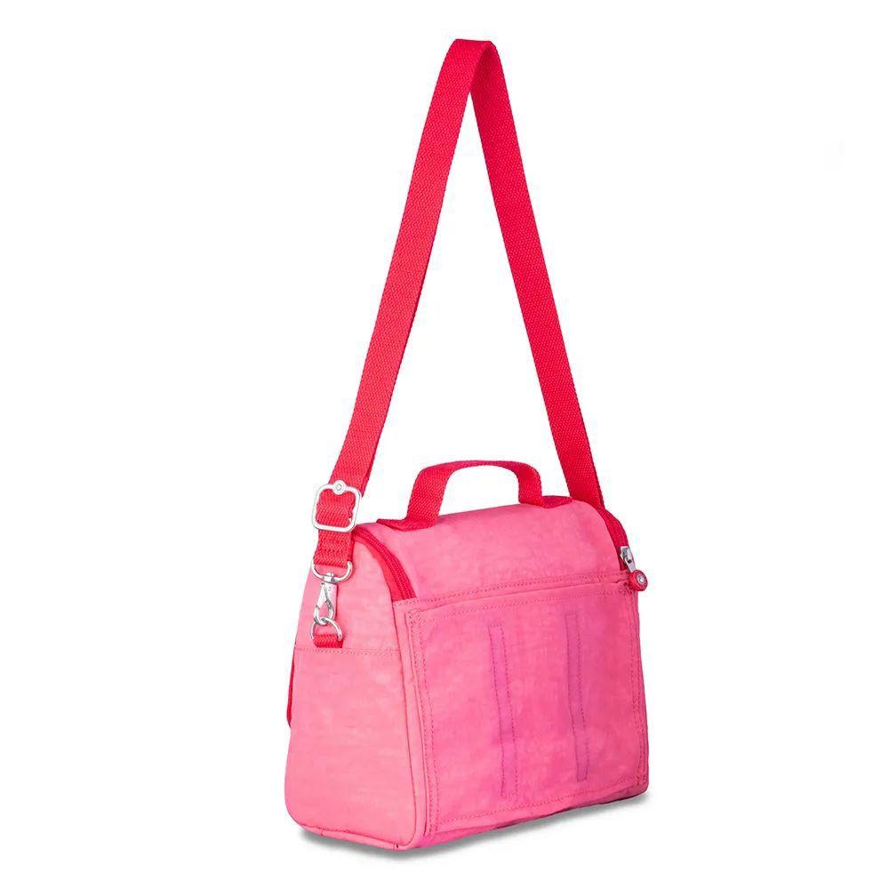 Lancheira New Kichirou Kipling Fiesta Pink