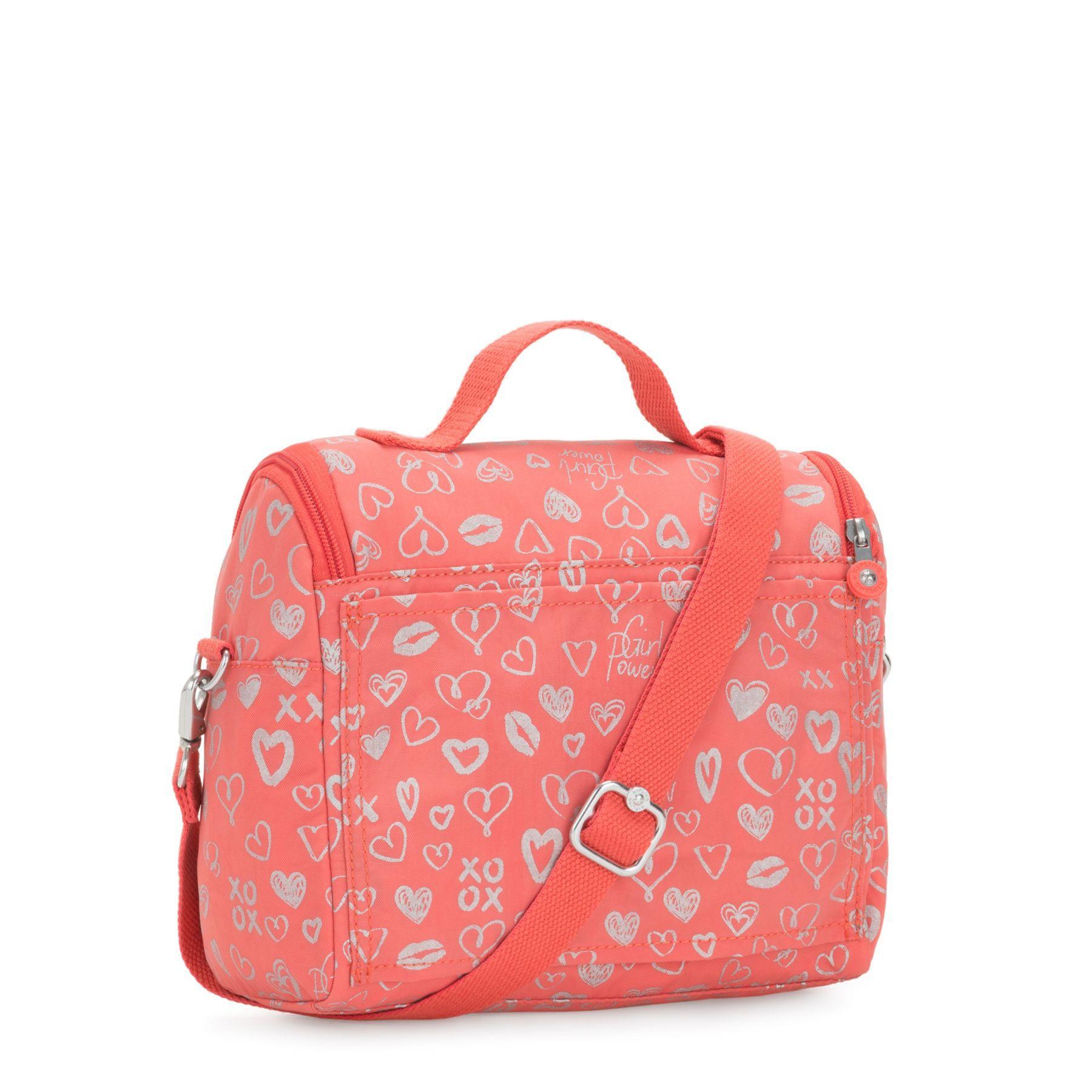 Lancheira New Kichirou Kipling Hearthy Pink
