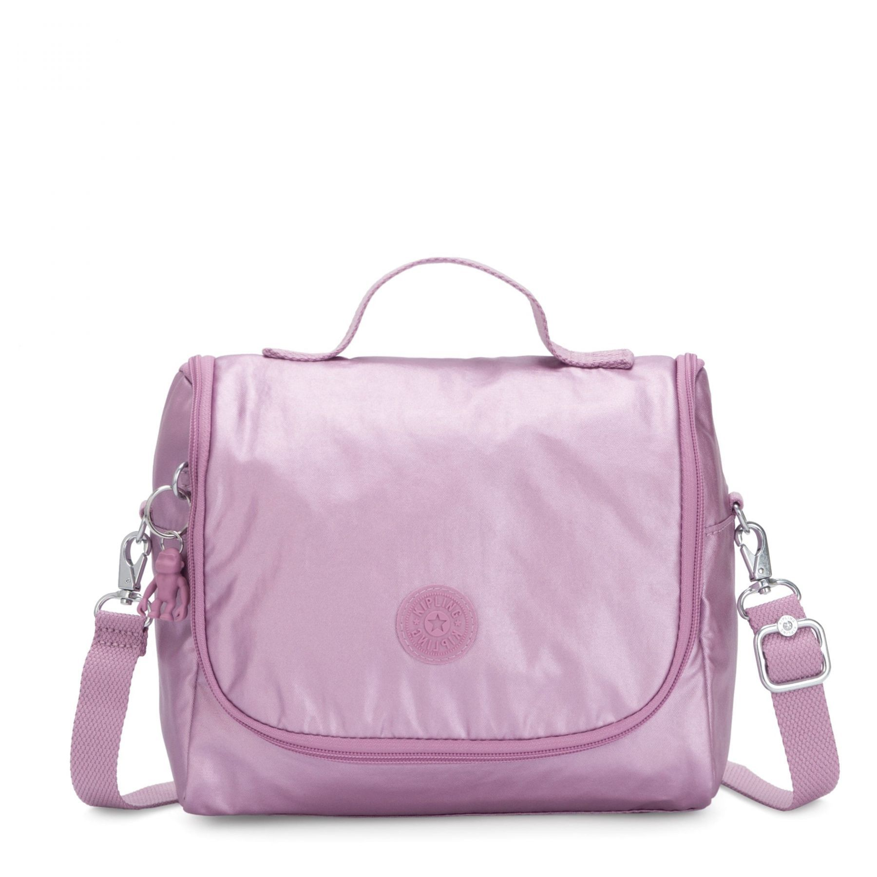 Lancheira New Kichirou Kipling Metallic Berry