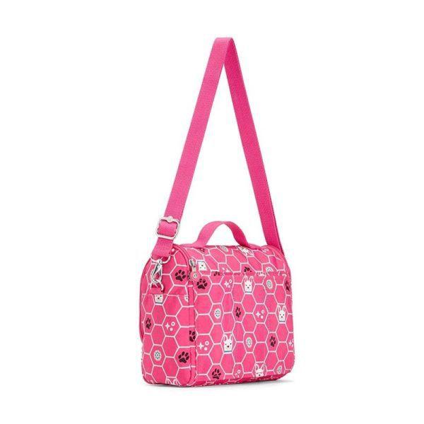 Lancheira New Kichirou Kipling Pink Dog