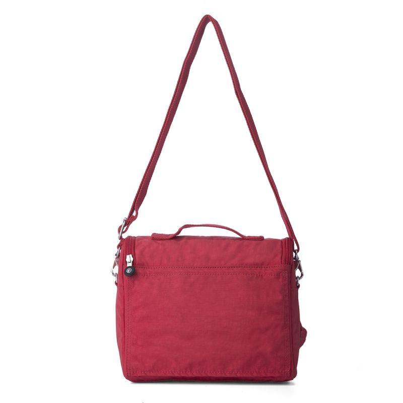Lancheira New Kichirou Kipling Vibrant Red