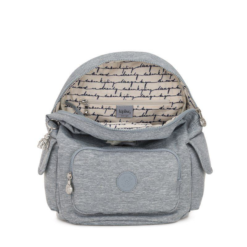 Mochila City Pack S Kipling Cool Denim