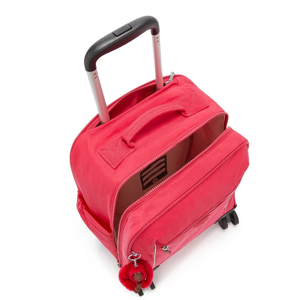 Mochila de Rodinhas Kipling Mese True Pink