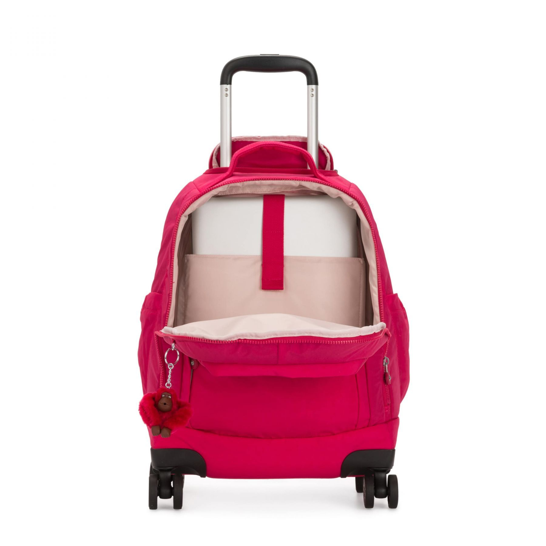 Mochila de Rodinhas Kipling Zea True Pink