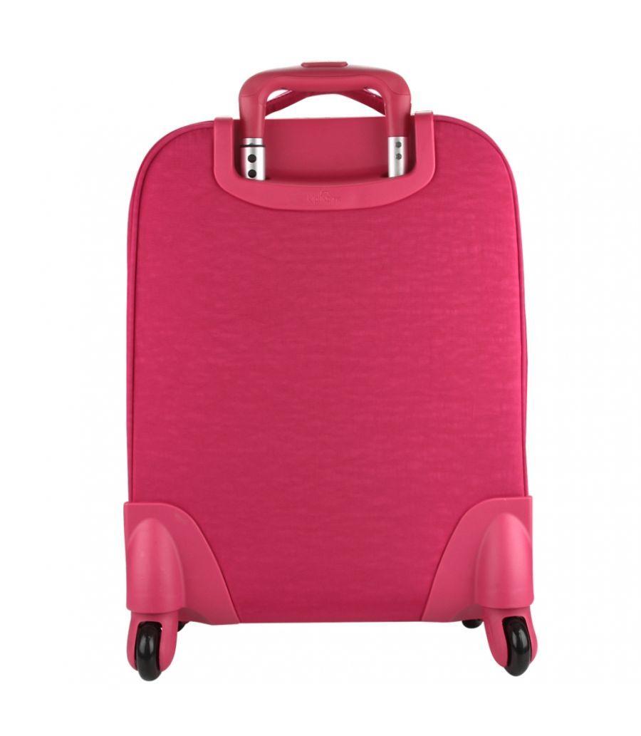 Mochila de Rodinhas Licia Kipling Cerise Pink