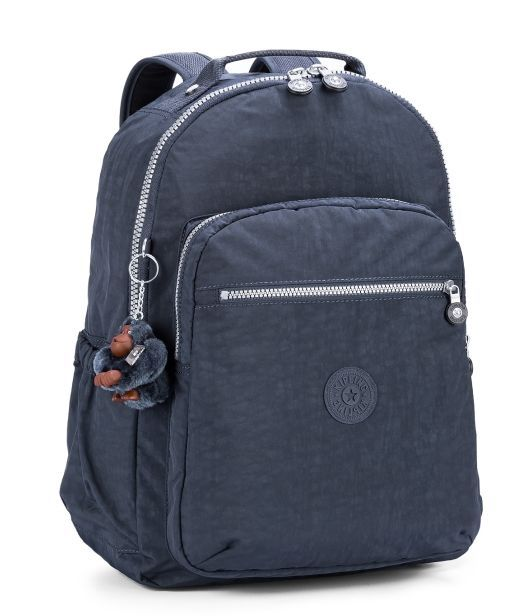 Mochila Escolar Seoul Up Kipling True Blue