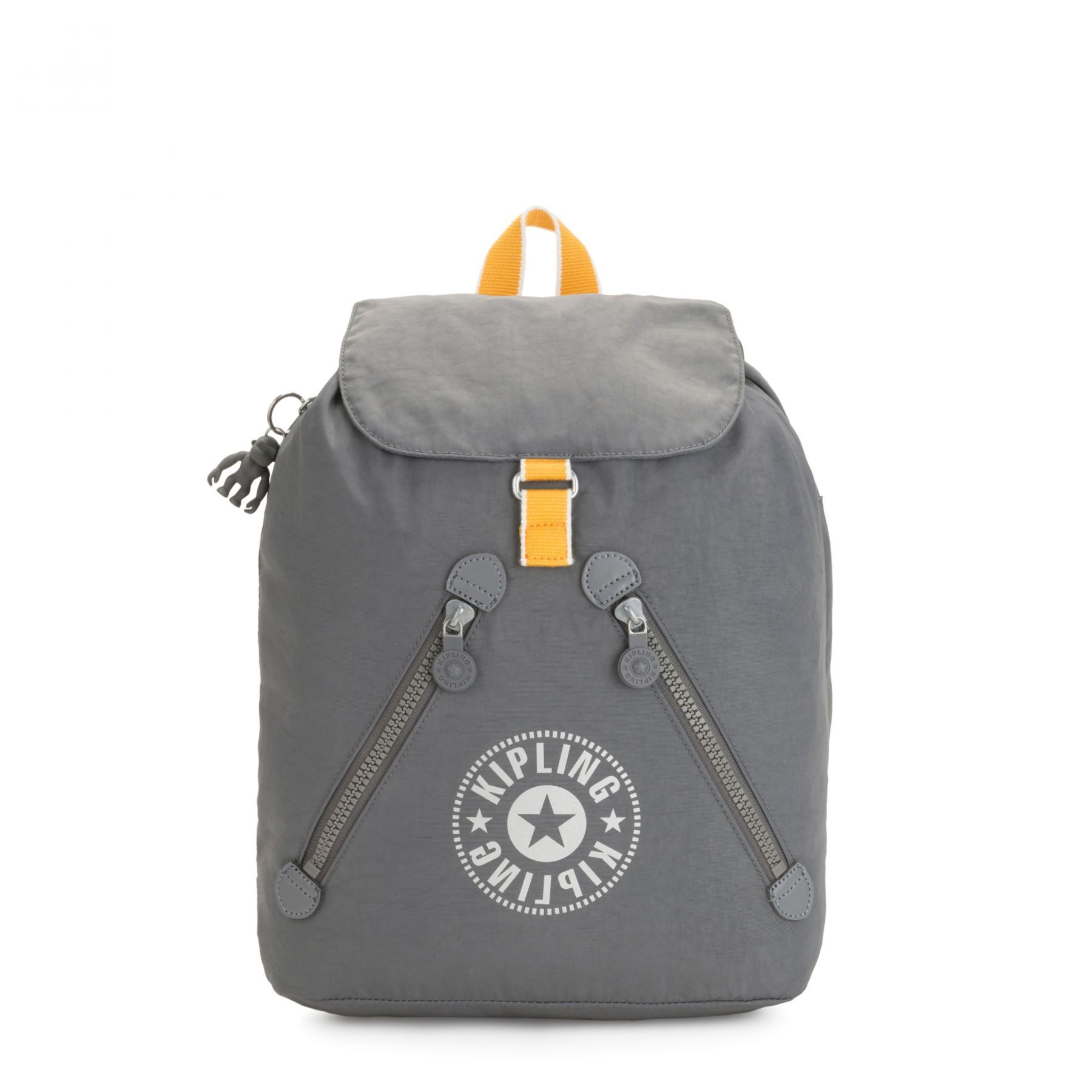 Mochila Fundamental Kipling Dark Carbon Y