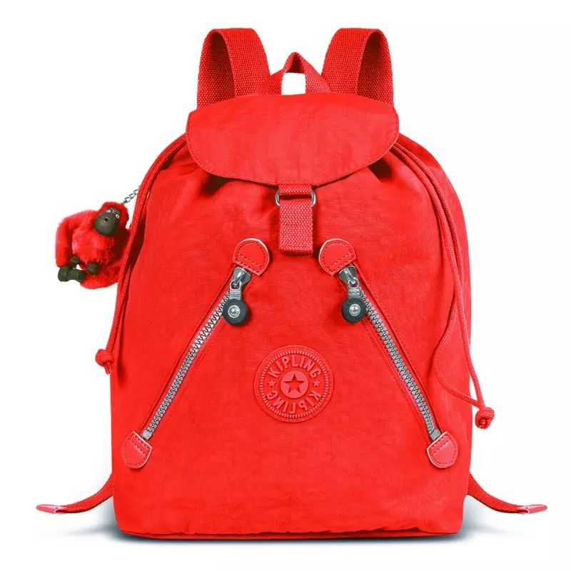 Mochila Fundamental Kipling Red
