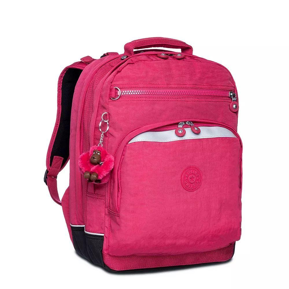 Mochila Grande Webmaster Kipling Cerise Pink