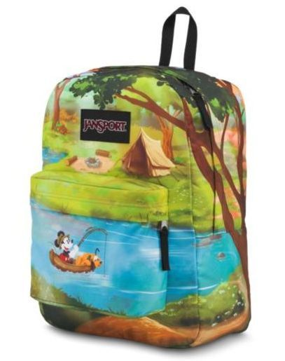Mochila High Stakes  Jansport Disney Forest Camp
