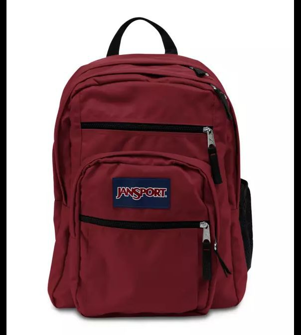 Mochila Jansport Big Student Vinho Viking Red