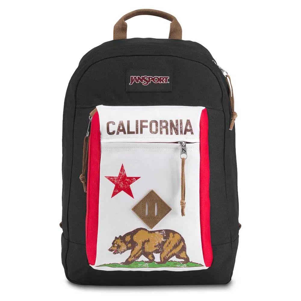 Mochila Jansport Reilly Red New California Republic