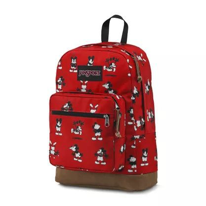 Mochila Jansport Right Pack Disney Red Tape Mr. Mickey