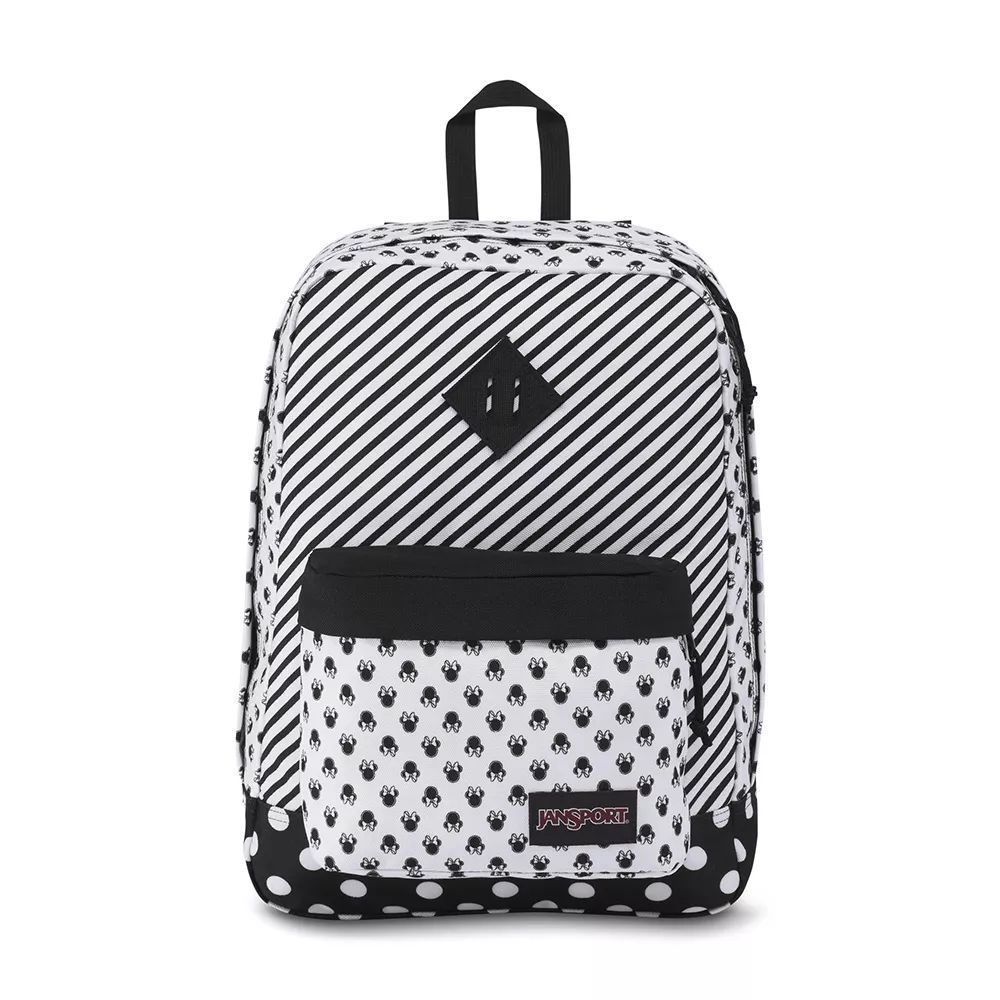 Mochila  Jansport Super FX Disney Minnie White Bow Dot