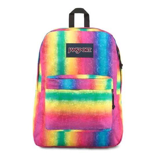 Mochila Jansport Superbreak  Rainbow Sparkle