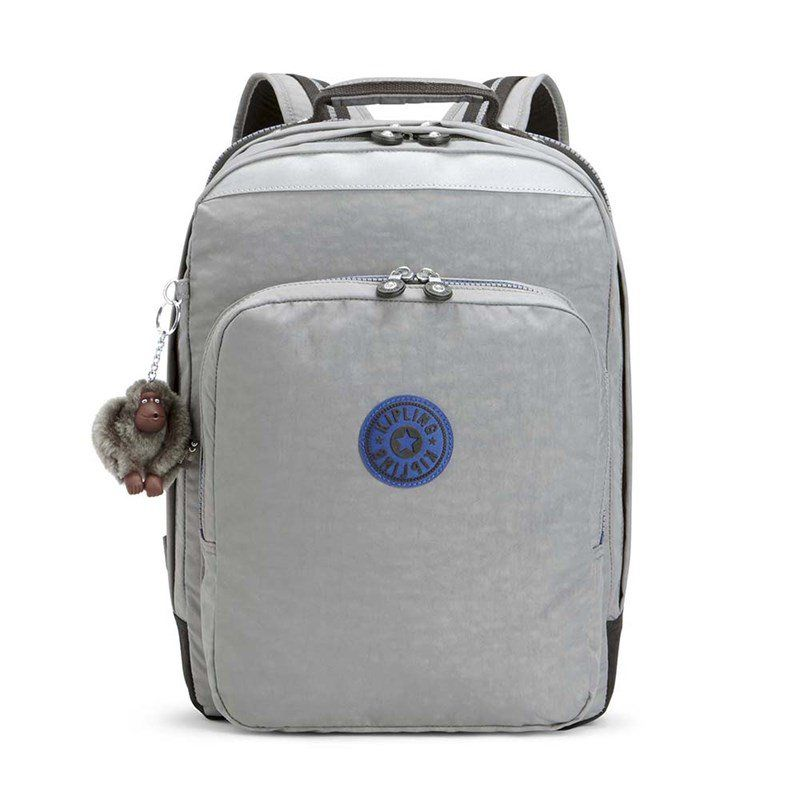 Mochila Kipling College Up  Kind Grey C