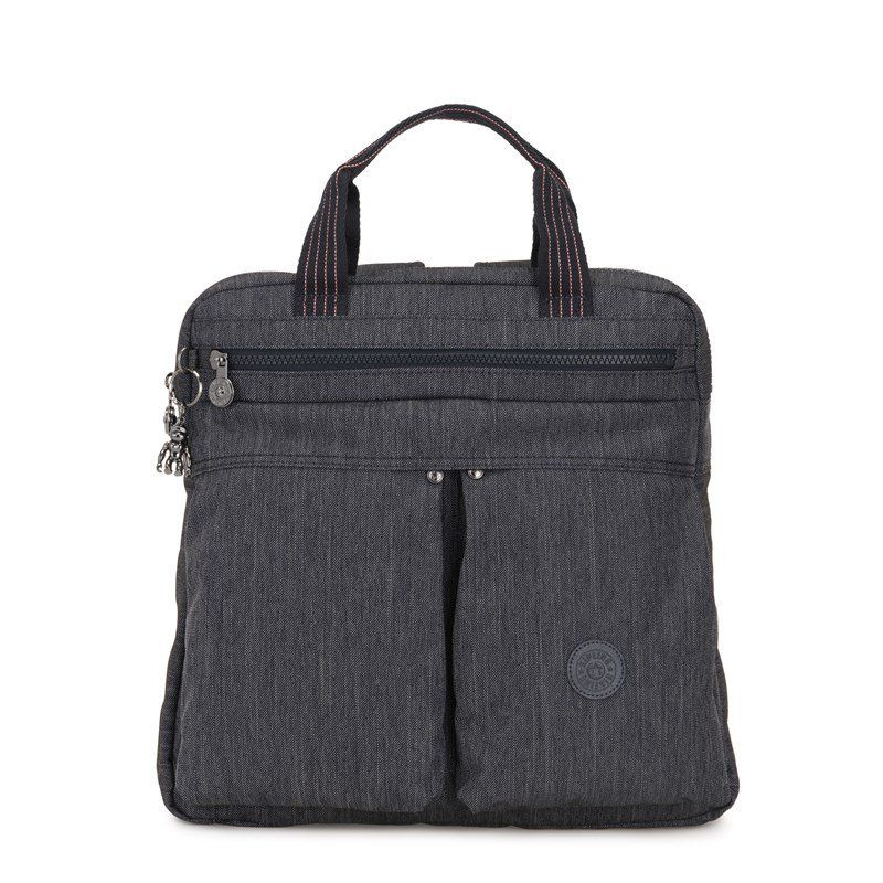 Mochila Kipling Para Notebook Komori Active Denim