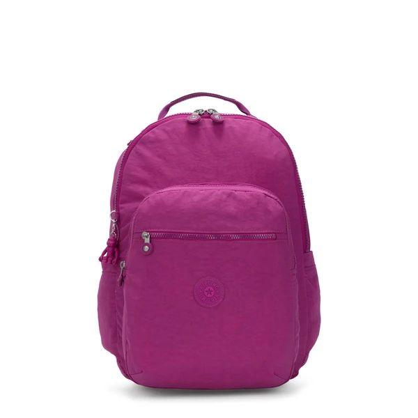 Mochila Kipling Seoul Bright Pink