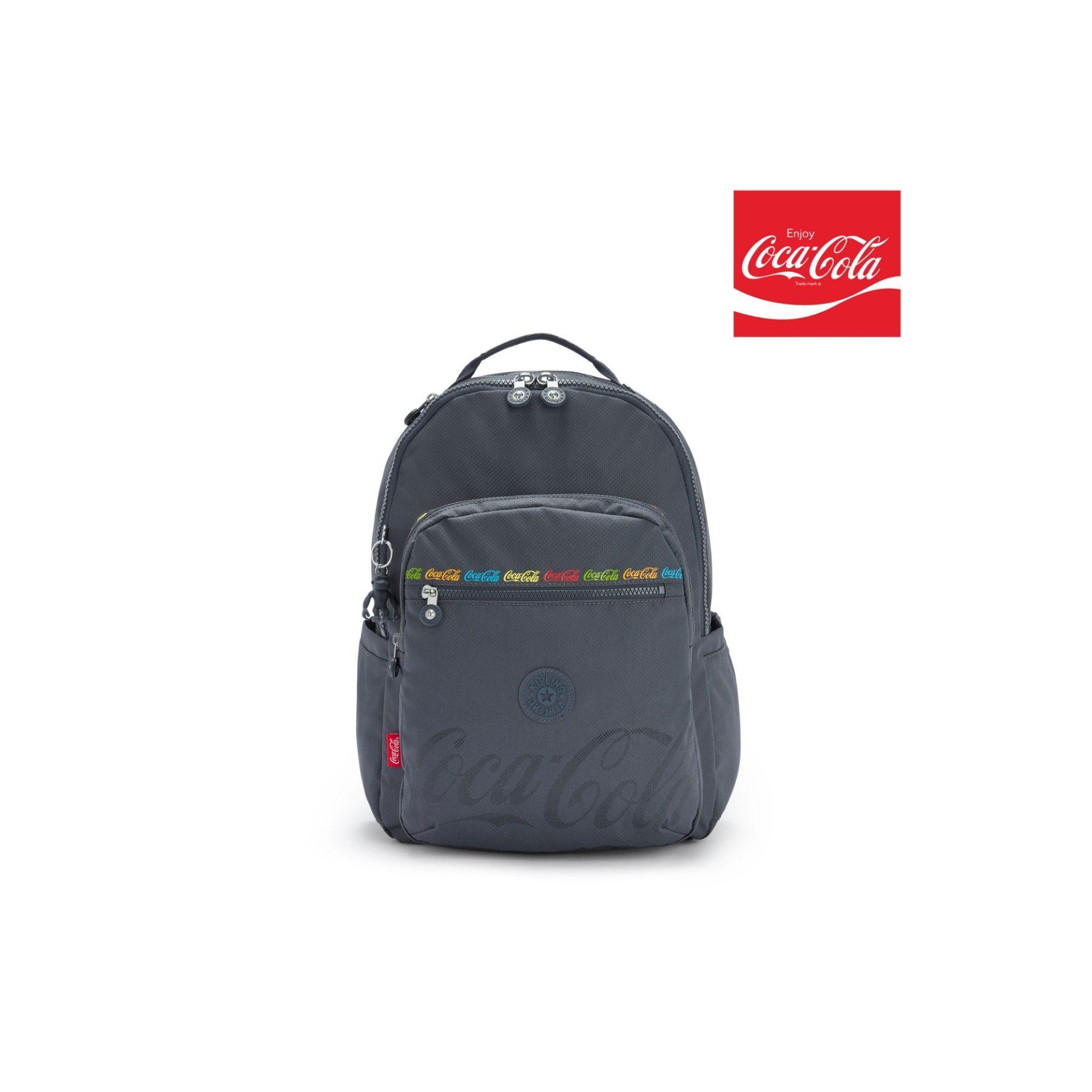 Mochila Kipling Seoul Coca-Cola Graphics