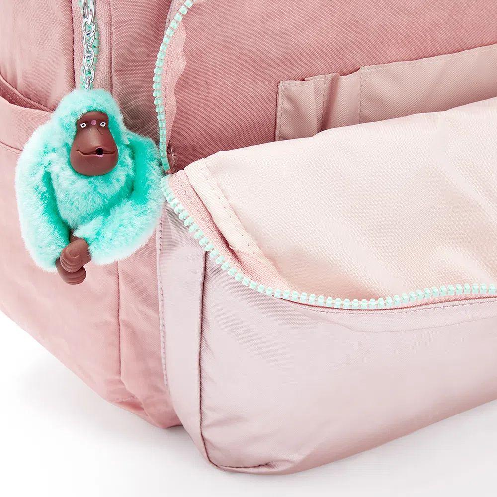 Mochila Kipling Seoul Cotton Candy Bl