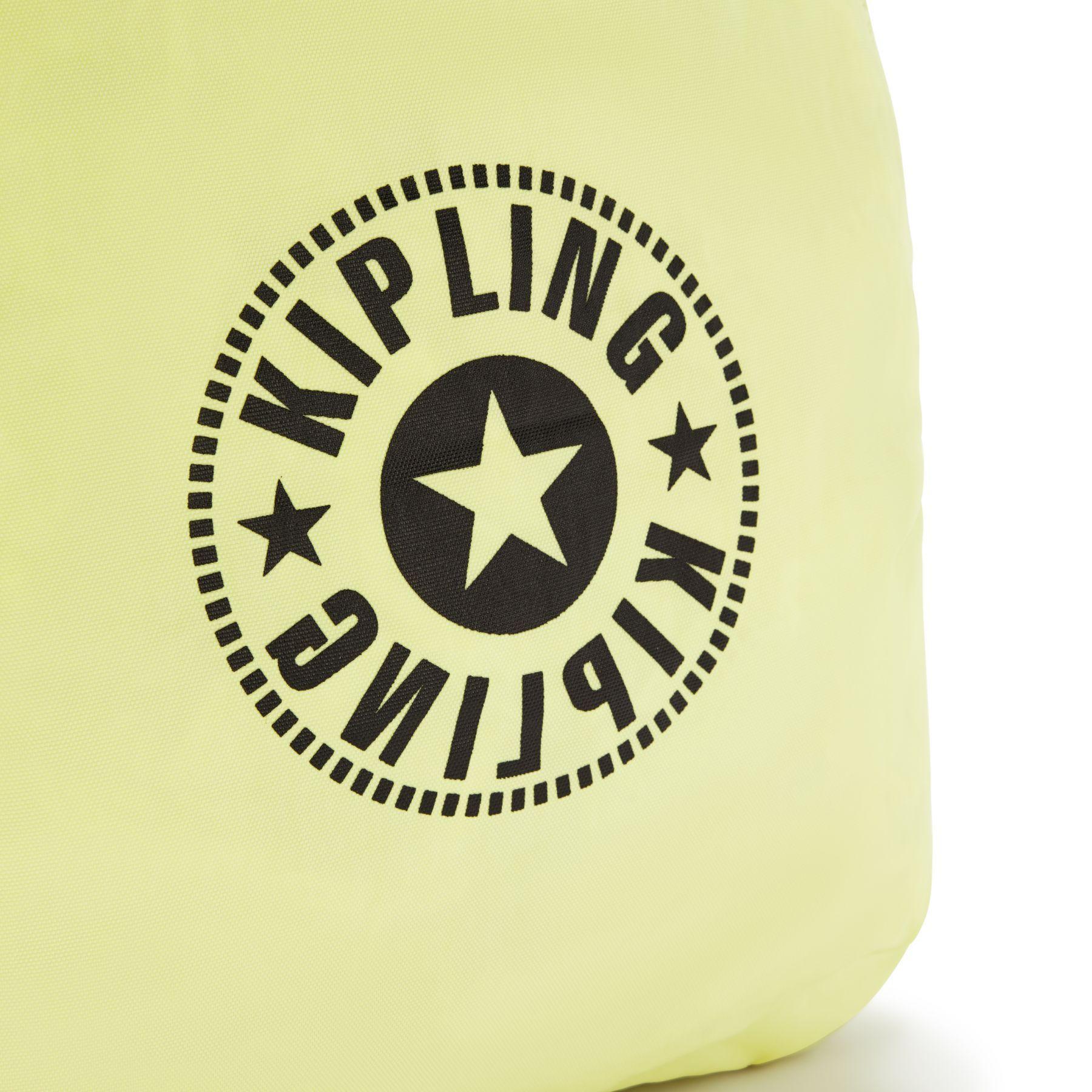 Mochila Kipling Seoul Média Lite Lime Green