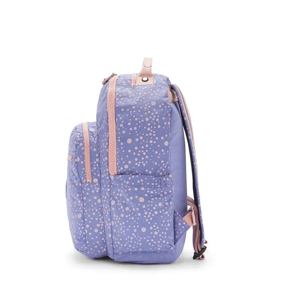 Mochila Kipling Seoul Purple Twinkle