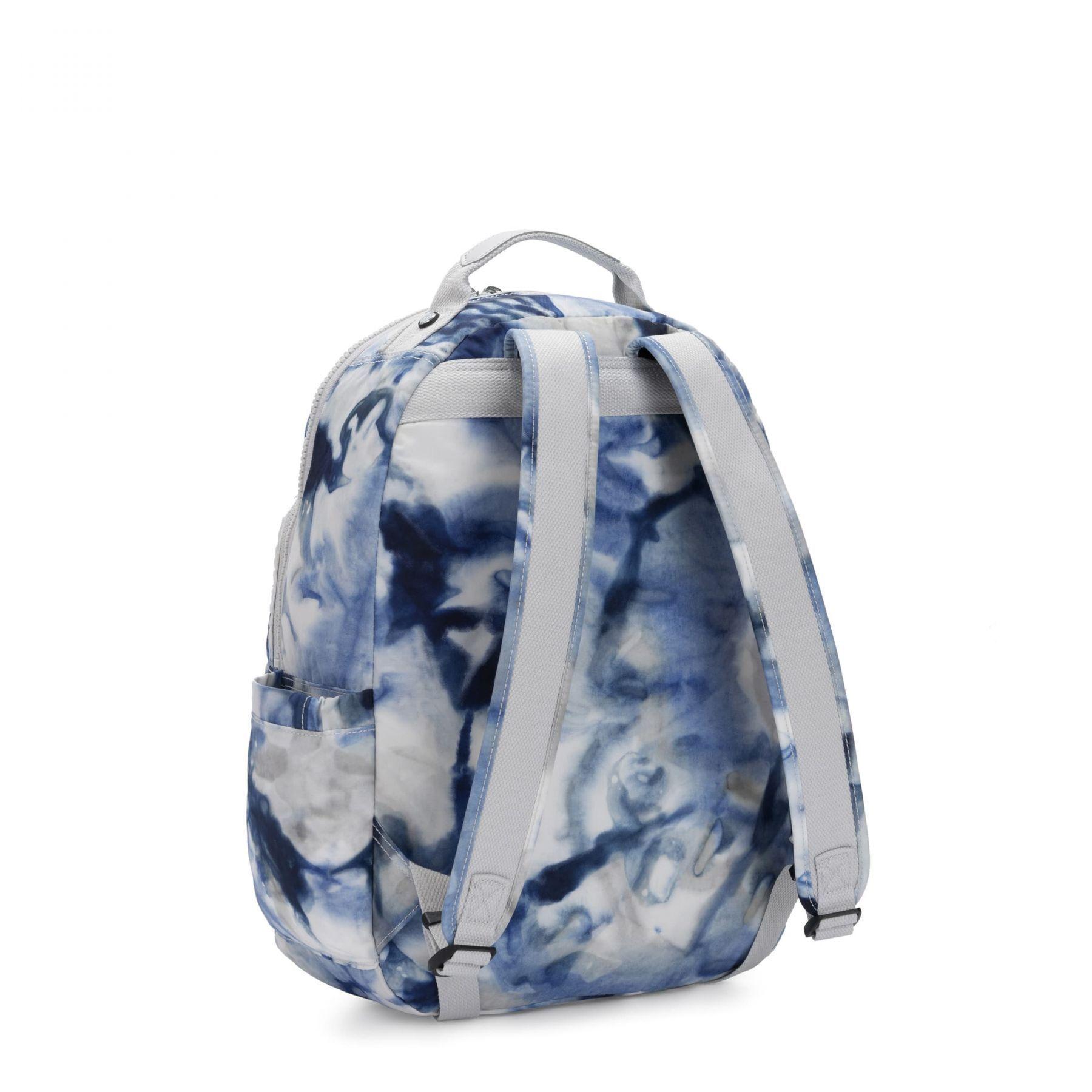 Mochila Kipling Seoul  Tie Dye Blue