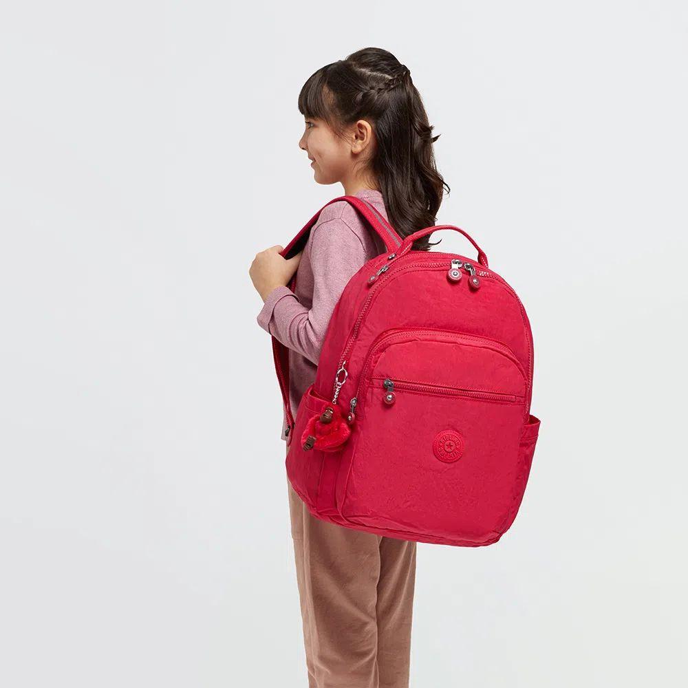 Mochila Kipling Seoul True Pink