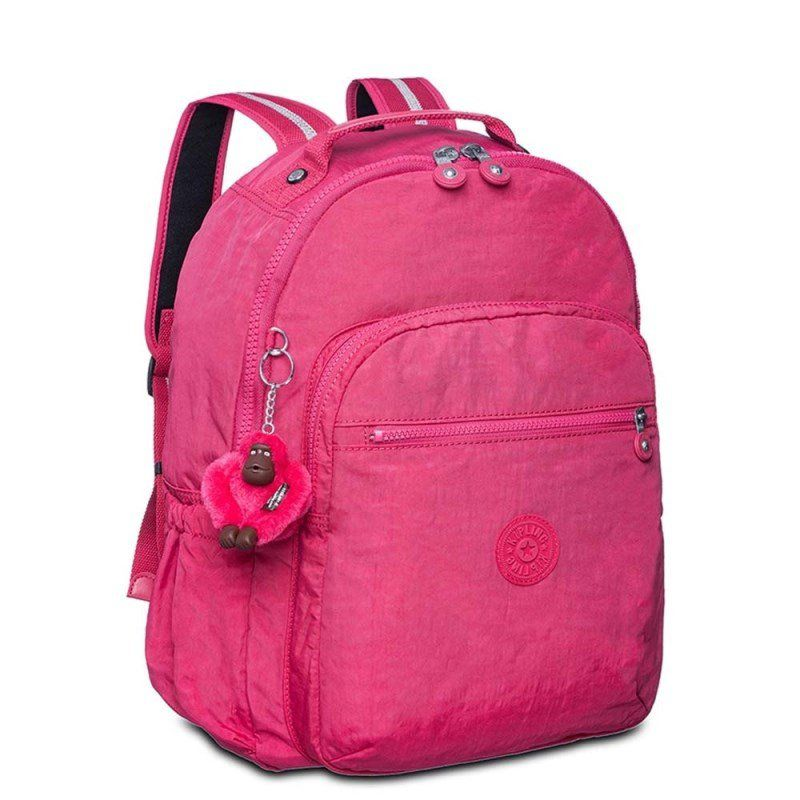 Mochila Kipling Seoul Up Cerise Pink