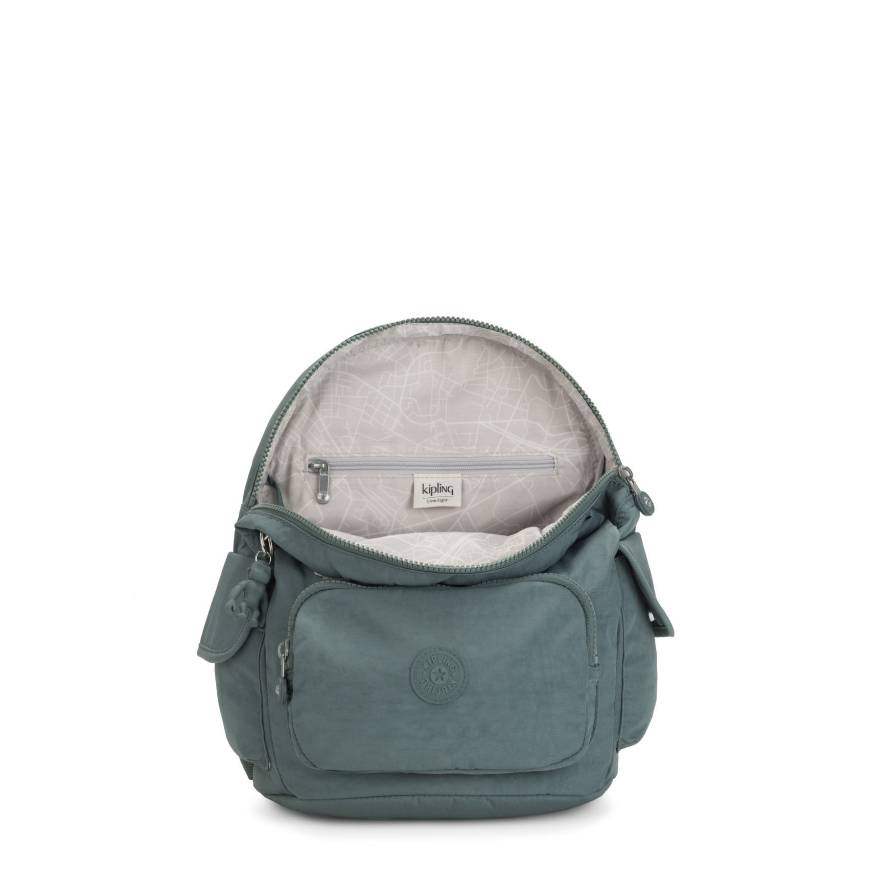 Mochila Média City Pack S Kipling Light Aloe