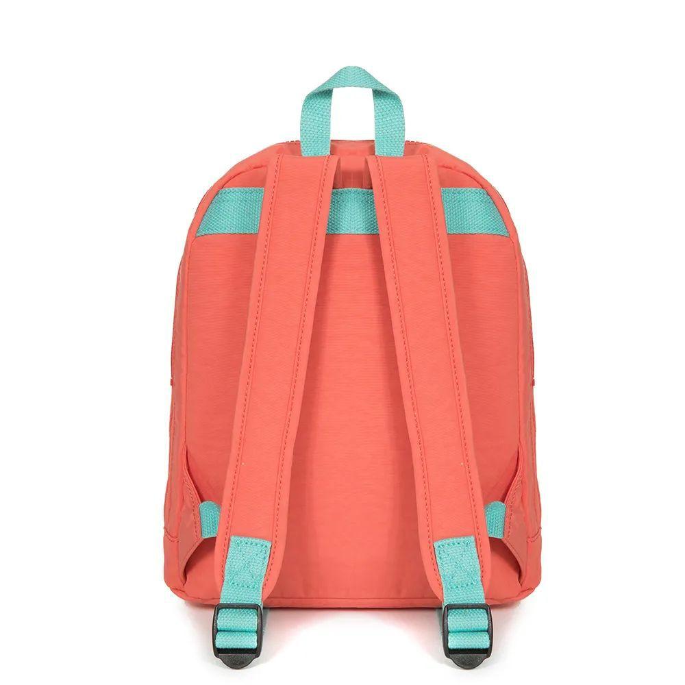 Mochila Pequena Heart Backpack  Kipling Peachy Pink