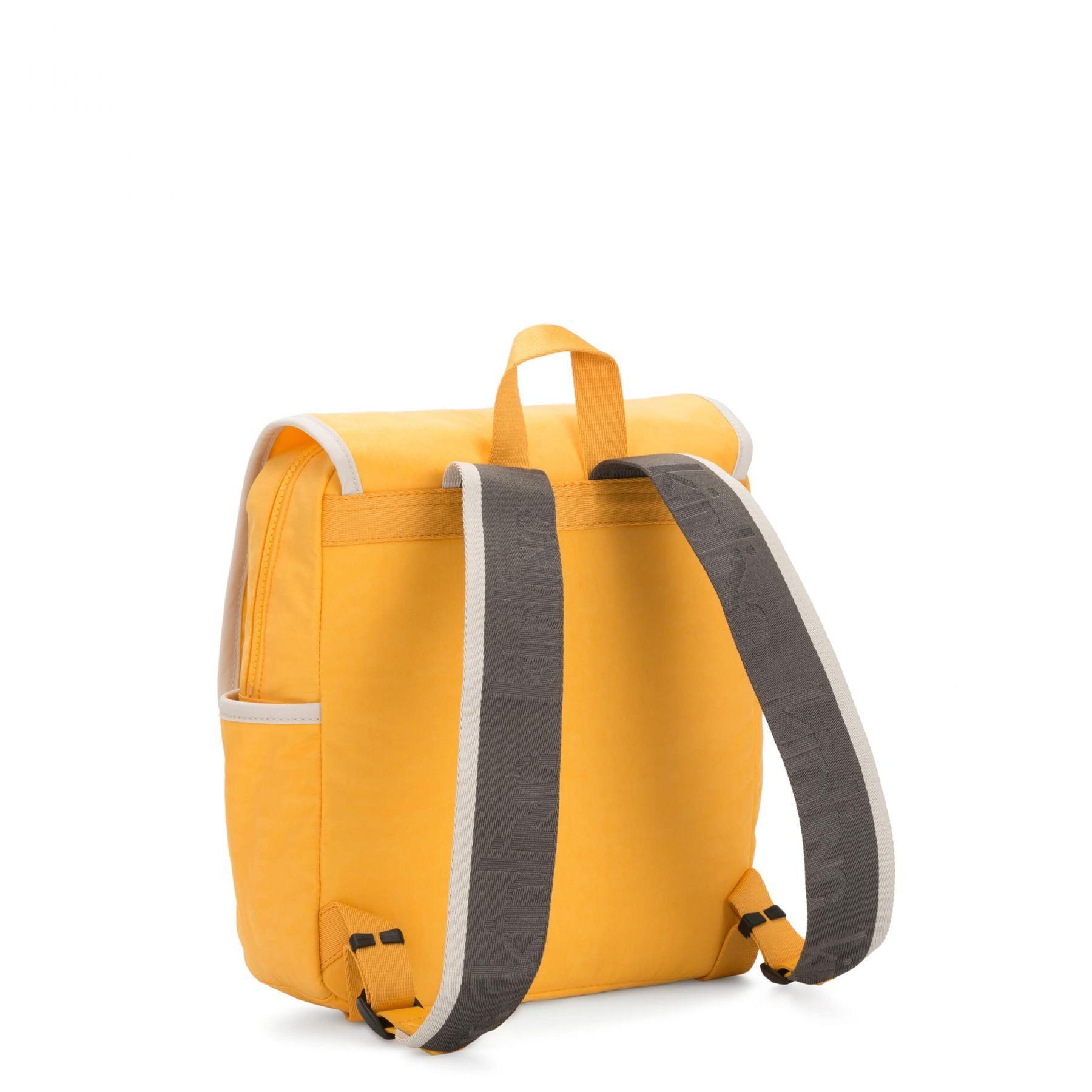 Mochila Pequena Kipling Leonie Vivid Yellow