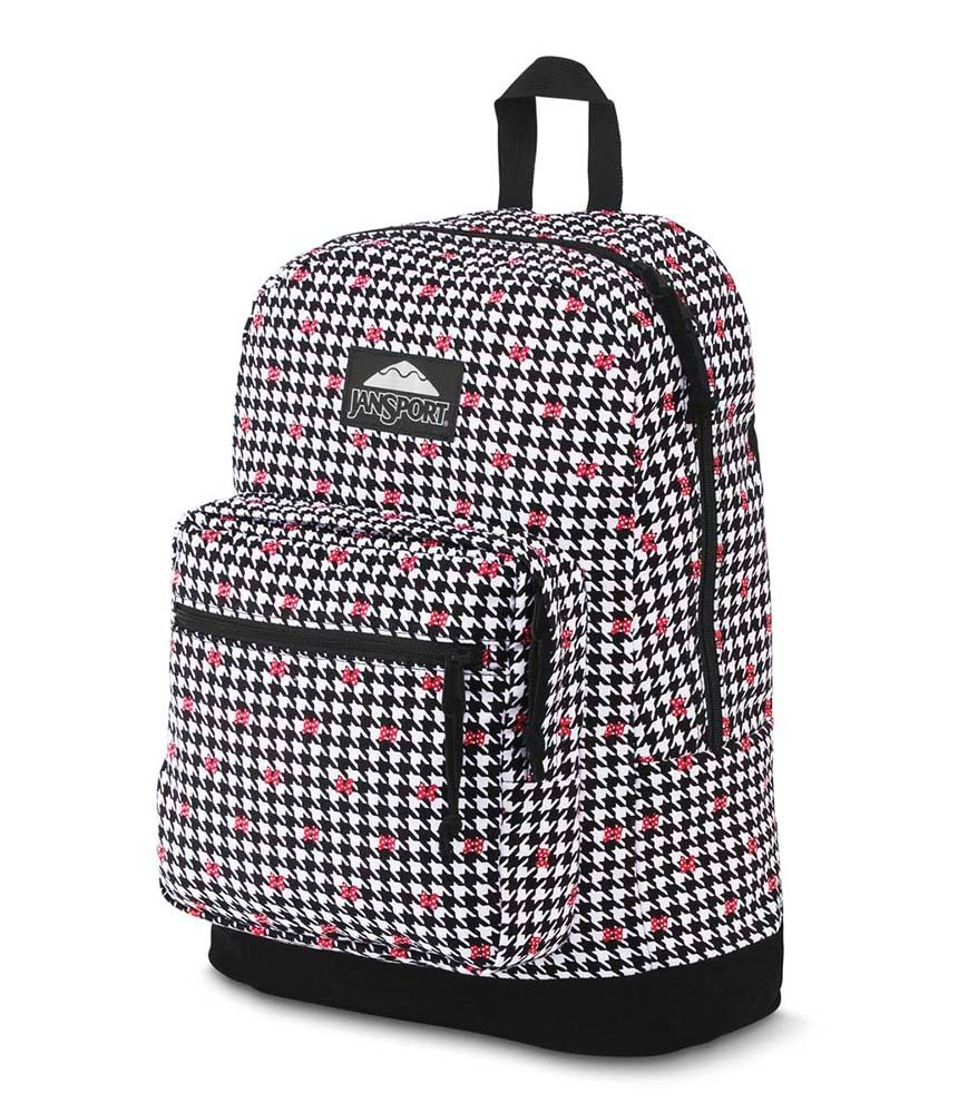 Mochila Jansport Right Pack Disney Minnie White