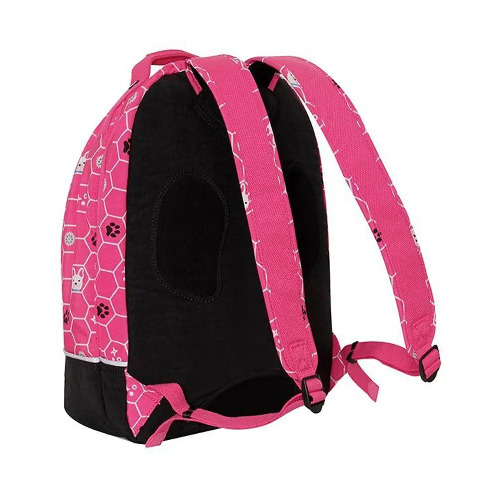 Mochila Stelba Kipling Pink Dog